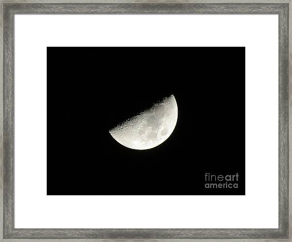 Moon 2 Framed Print
