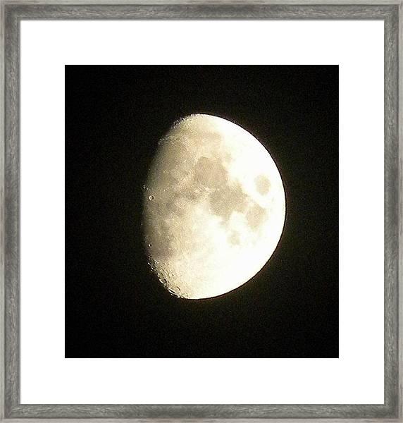 Moon Lit Night Framed Print