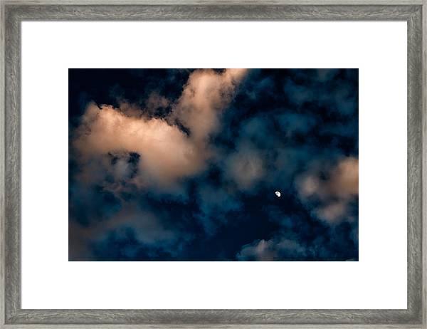 Moon Over Maui   Framed Print