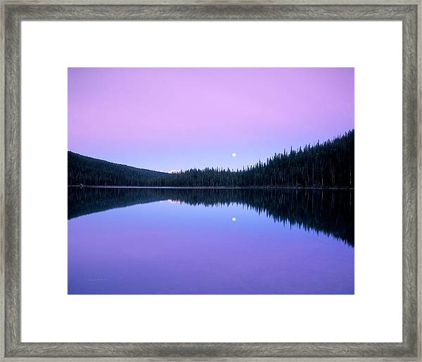 Moon Rise Framed Print
