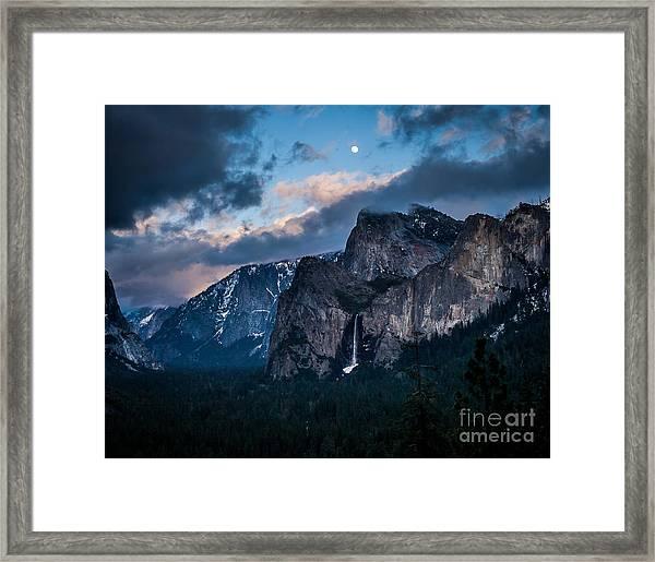 Moon Rock Framed Print