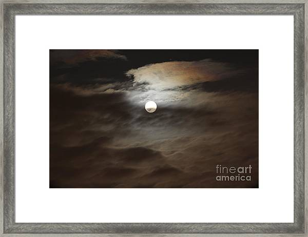 Moon Shine 2 Framed Print