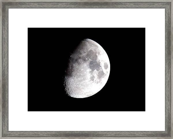 Laura's Moon Framed Print by John King