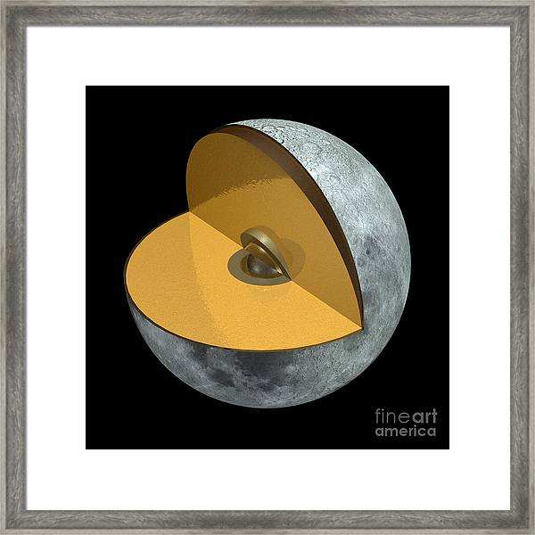 Moon Structure, Artwork Framed Print by Carlos Clarivan