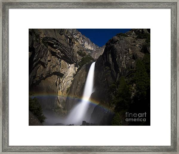 Moonbow Framed Print