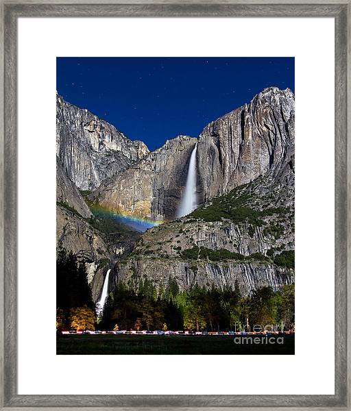 Moonbow Framed Print