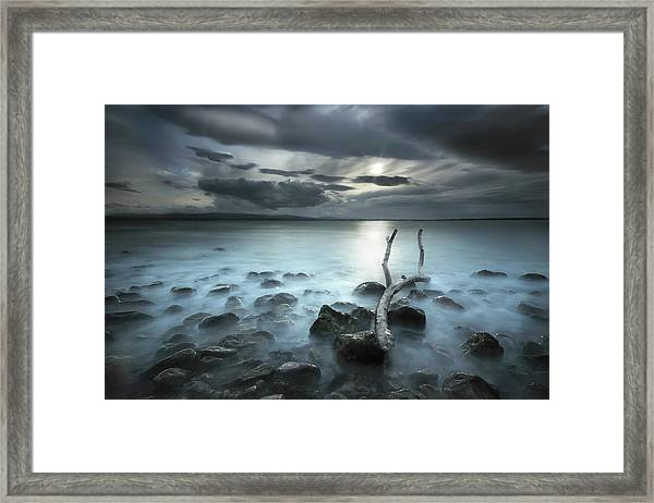Moonland Framed Print by Martin Marcisovsky