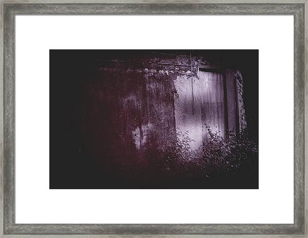 Moonlight Entrance  Framed Print