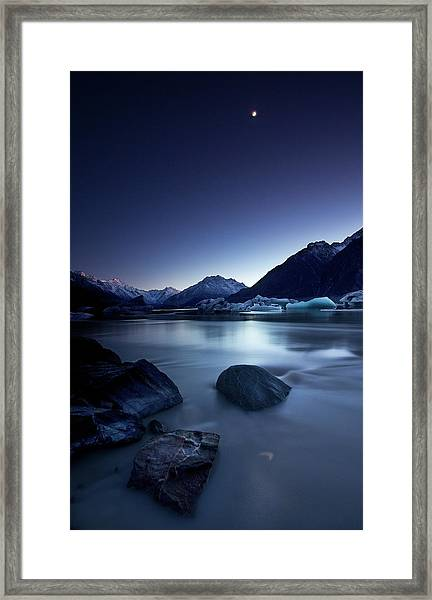 Moonlight Framed Print by Yan Zhang
