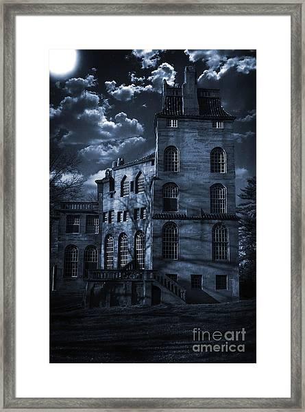 Moonlit Fonthill Framed Print