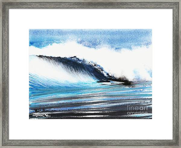 Moonlit Ocean Framed Print
