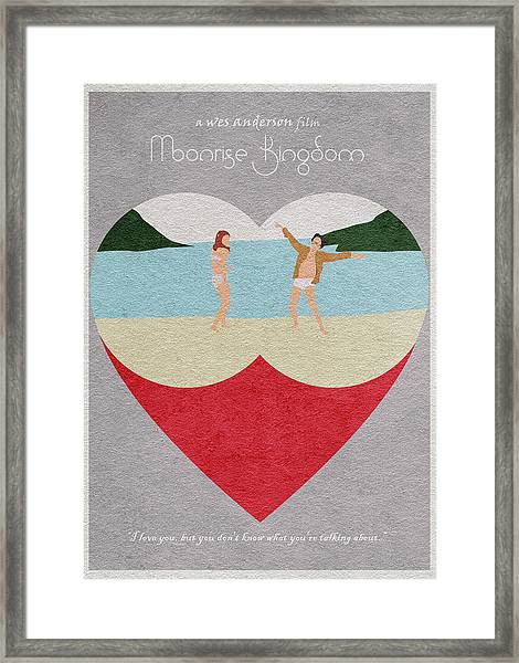 Moonrise Kingdom Framed Print