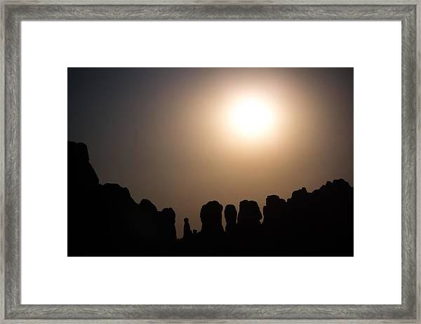 Moonrise Over Eden Framed Print