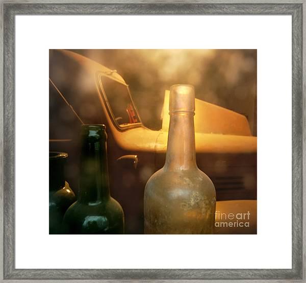 Moonshine Delivery Framed Print