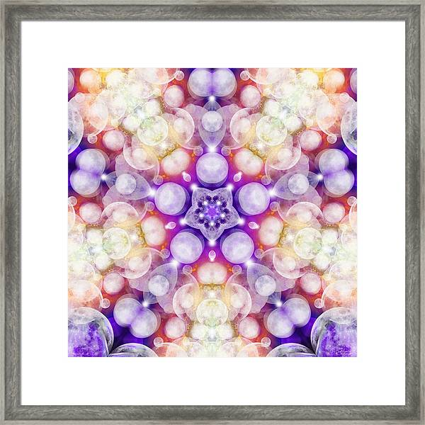 Moonstar Delta Framed Print