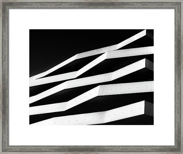 More Balconies Framed Print