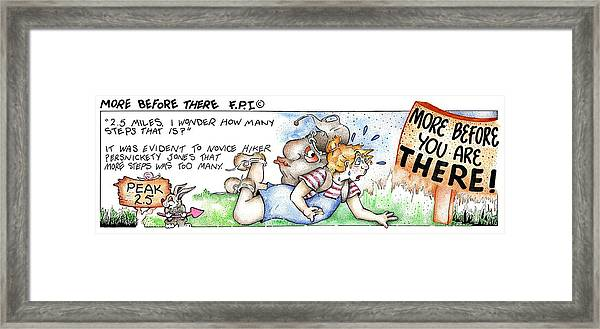 More Before There Fpi Cartoon Framed Print