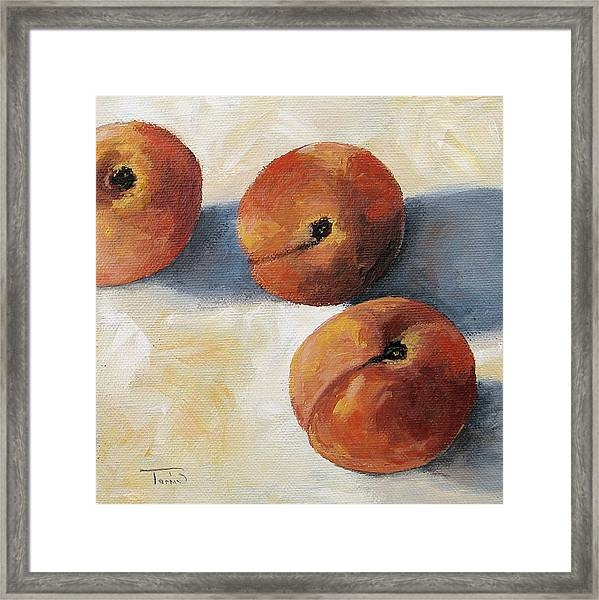 More Georgia Peaches Framed Print