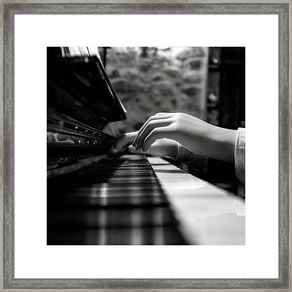 More Music Please Framed Print by Marco Antonio Cobo