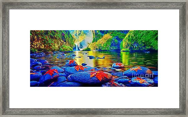 More Realistic Version Framed Print