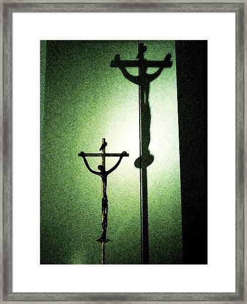 More Than A Shadow Framed Print