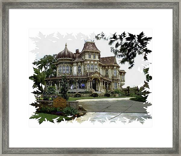 Morley Mansion Framed Print