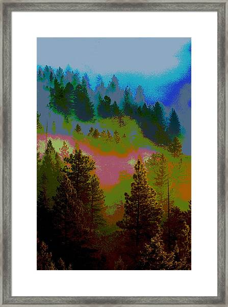 Morning Arrives In The Pacific Northwest Framed Print