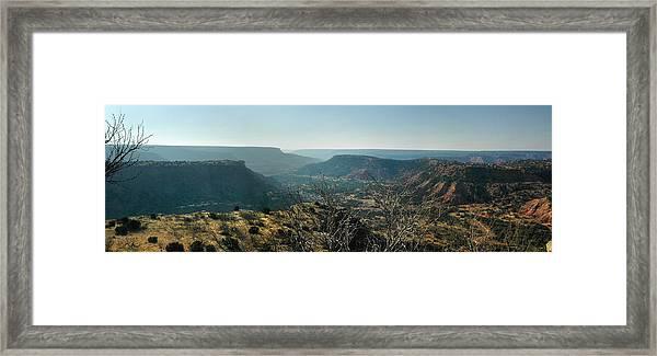 Morning At Palo Duro Framed Print