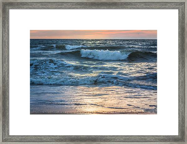 Morning Breakers Framed Print
