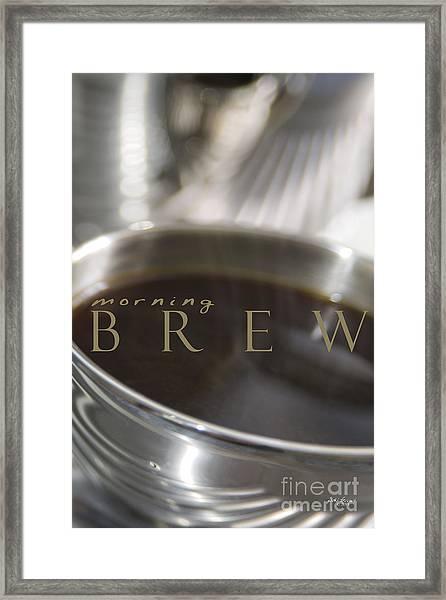 Morning Brew Framed Print