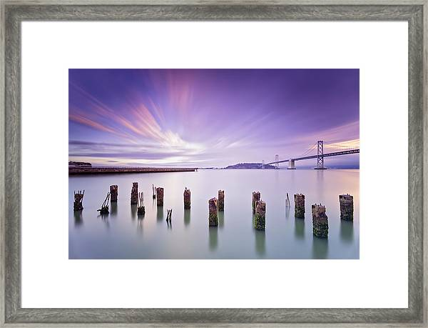 Morning Calmness - San Francisco Bay Framed Print