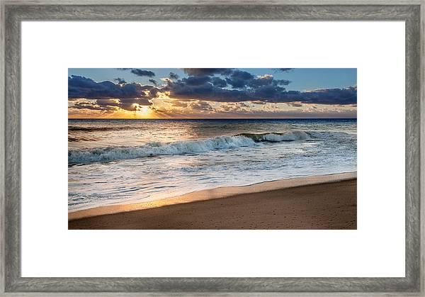 Morning Clouds Framed Print