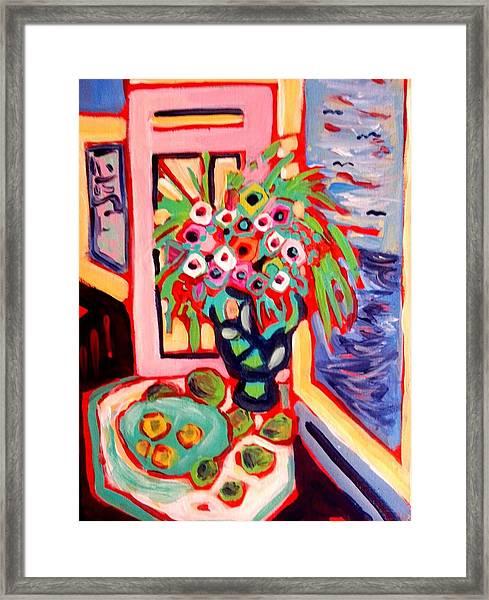 Morning Floral Framed Print