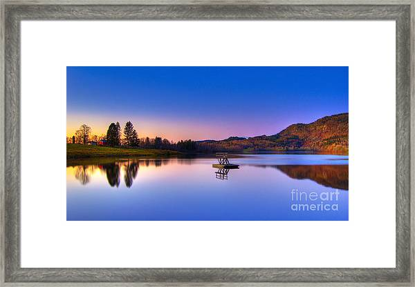 Morning Glory.. Framed Print