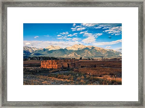 Morning Glow Framed Print