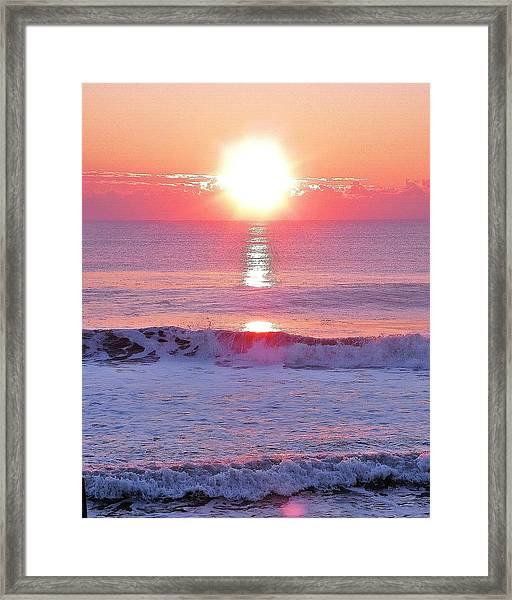 Morning Has Broken Framed Print