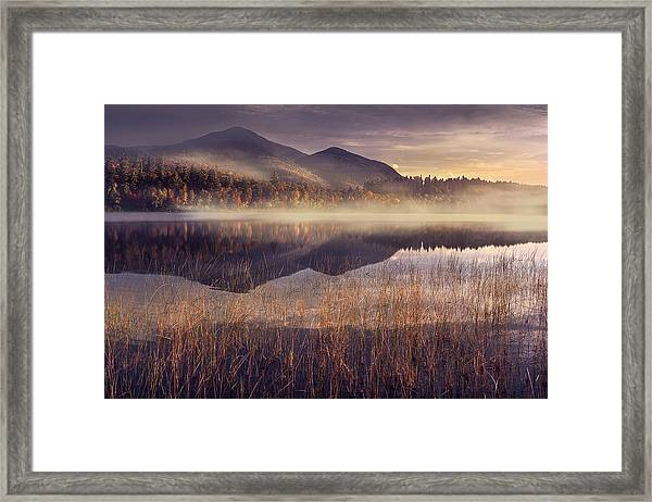 Morning In Adirondacks Framed Print