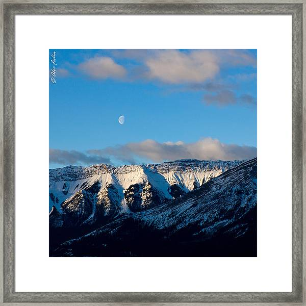 Morning In Mountains Framed Print