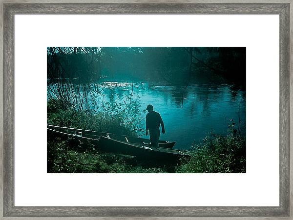 Morning In Quetico Framed Print