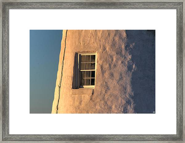 Morning Light At Pemaquid Framed Print