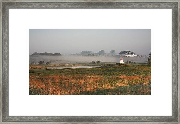 Morning Light Over Ariss Framed Print