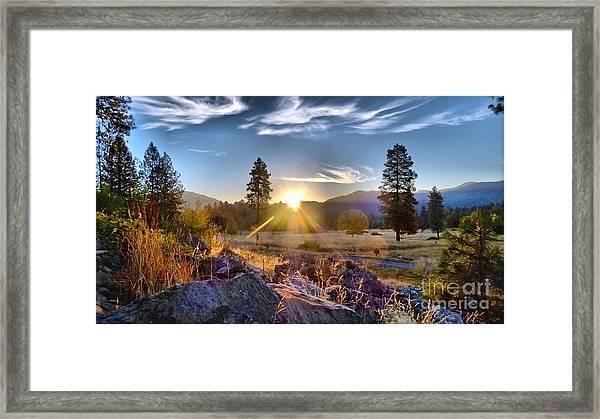 Morning Magic Framed Print