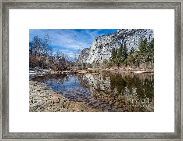 Morning Mirror Framed Print