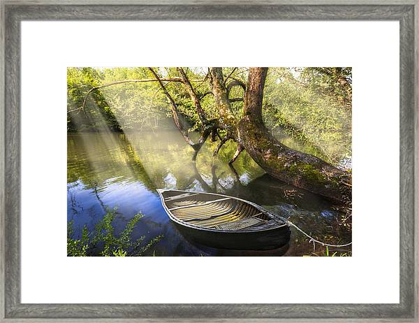 Morning Mists Framed Print