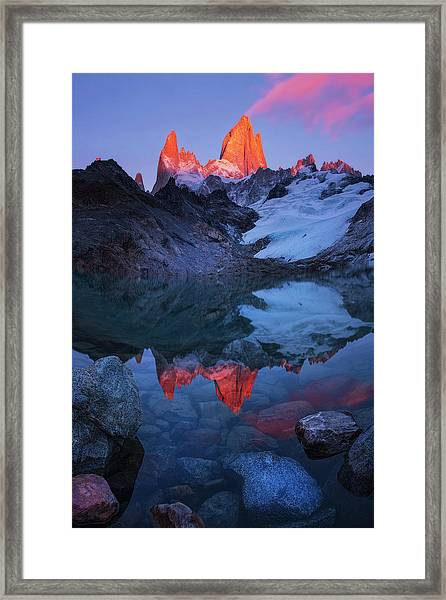 Morning Of Tranquility Framed Print by Yan Zhang