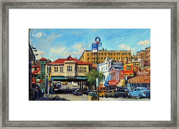 Morning On 231st Street The Bronx Framed Print