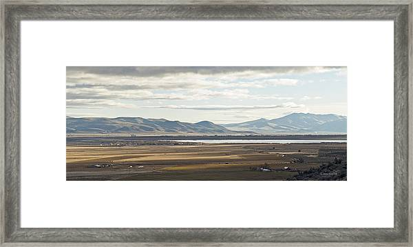 Morning On Shugru Hill Framed Print