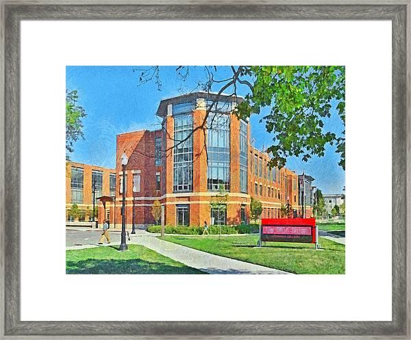 Student Union. The Ohio State University Framed Print