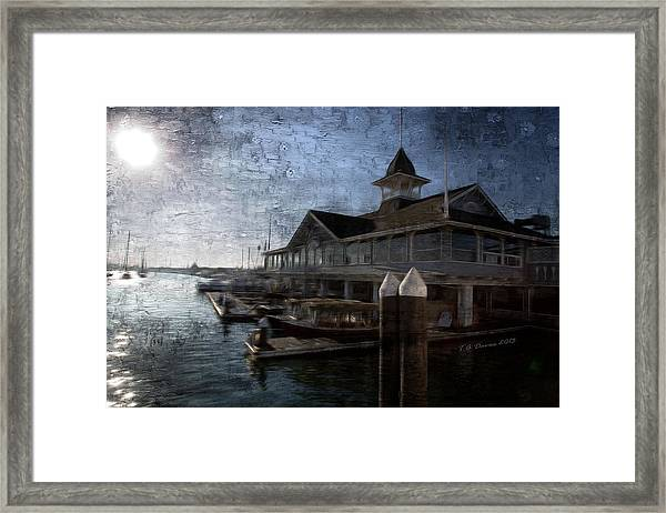 Morning On The Water Framed Print