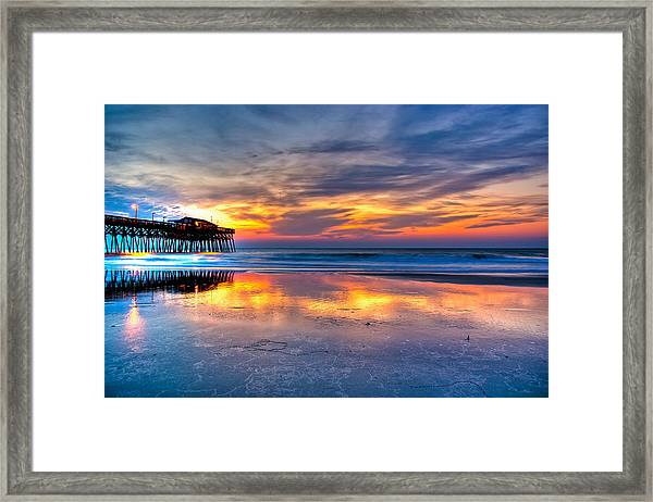 Framed Print featuring the photograph Morning Reflections by Francis Trudeau